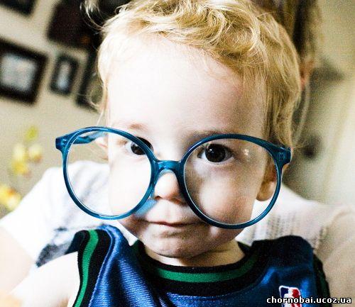 как вібрать очки для ребенка